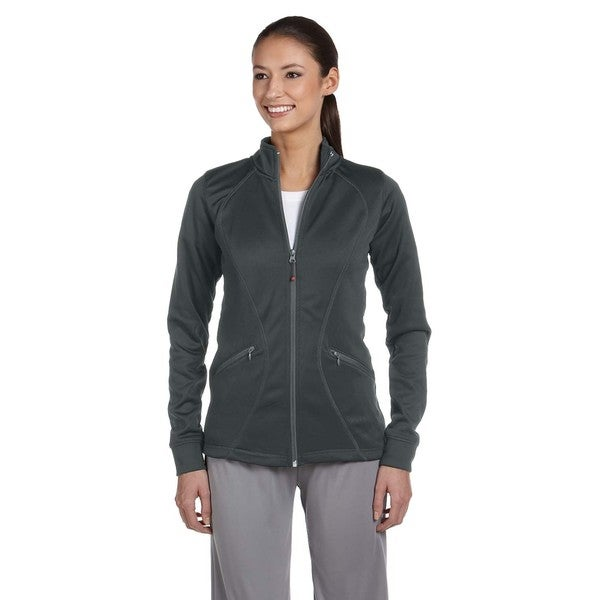 Tech Women's Fleece Full-zip Cadet Stealth Jacket