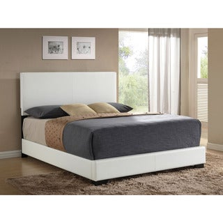 Ireland White PU Bed