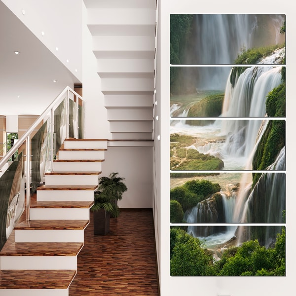 Detian Waterfall - Landscape Photography Canvas Art Print