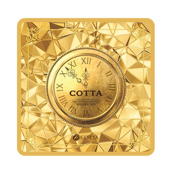 Cotta Gold Hydrogel Mask Sheet (Pack of 5)