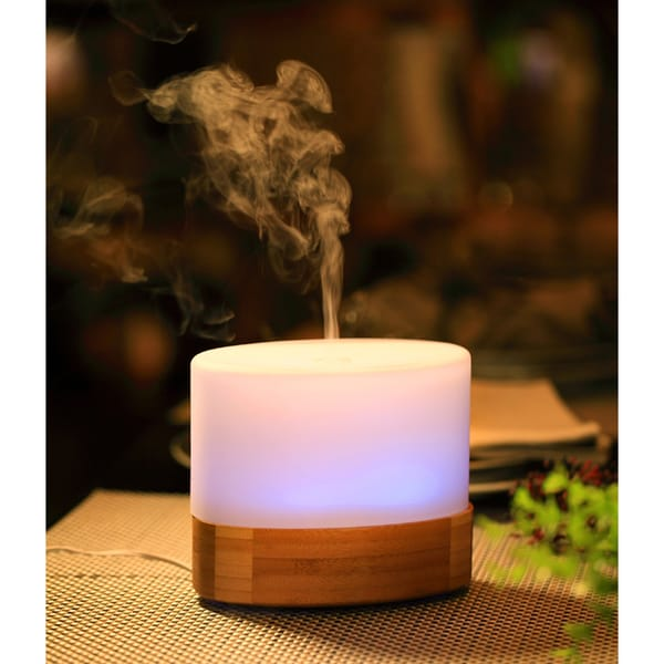 SPT White Plastic/Glass Ultrasonic Aroma Diffuser/Humidifier 19482250