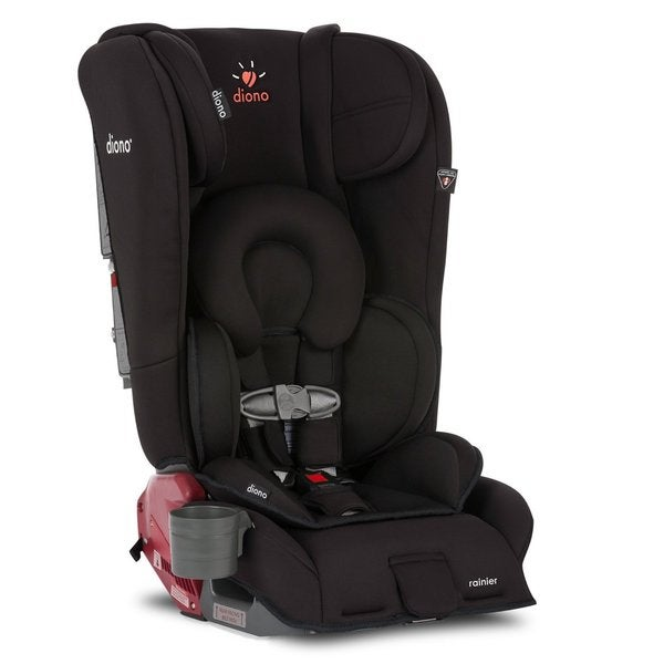 Diono Rainier Midnight Black Convertible Car Seat