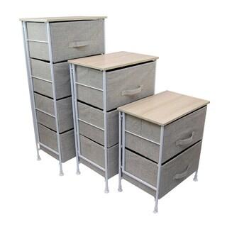 Shelf with Foldable Baskets