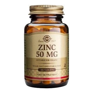 Solgar Zinc 50-milligram (100 Tablets)