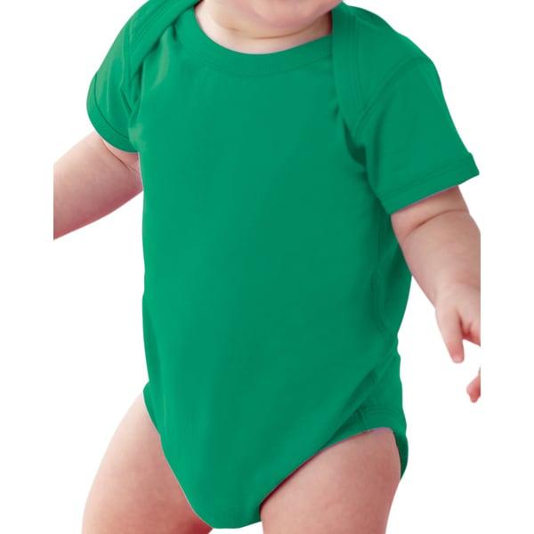 Rabbit Skins Infant's Kelly Fine Jersey Lap Shoulder Bodysuit 19485596