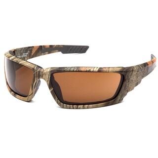 Venture Gear Brevard Black and Brown Polycarbonate Anti-fog Lens Sunglasses