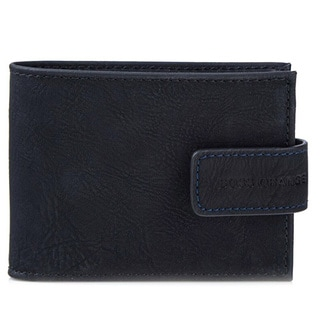 Hugo Boss Cammelia Black Textured Leather Bifold Wallet
