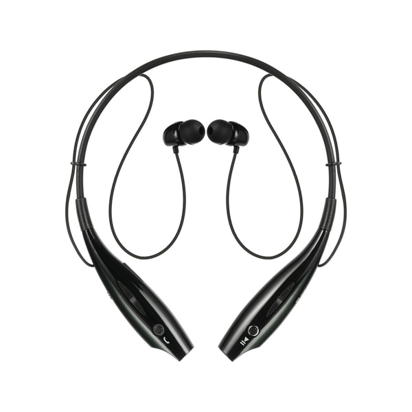 Black Neckband Bluetooth Headset