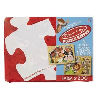 Melissa & Doug Farm & Zoo Jigsaw Puzzle