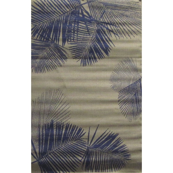 Leaves Outdoor Rug (3'3 x 4'11) - 3'3 x 4'11 19485834