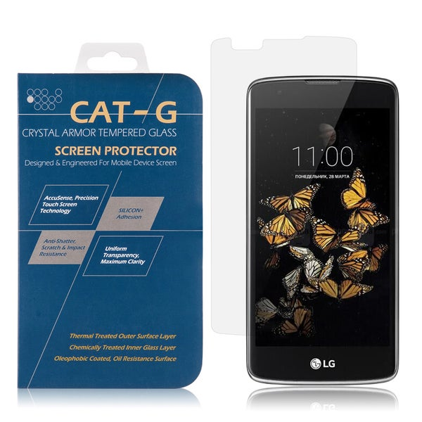 LG K8/Escape 3 Clear Tempered Glass 0.33-millimeter Arcing Screen Protector 19485881