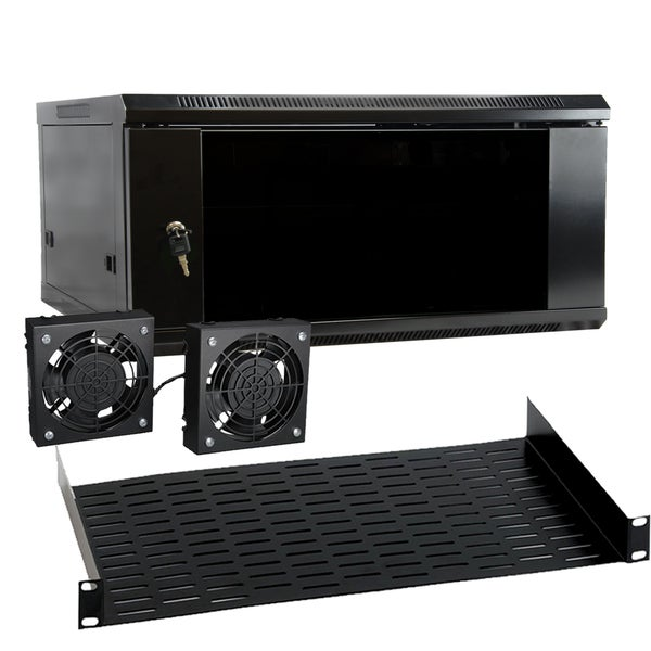 4U Wallmounted Rack Enclosure Server Cabinet