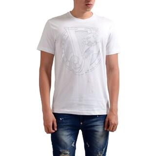 Verasace Jeans Men's VJ Tiger White Cotton T-shirt