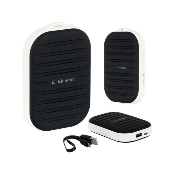 E Element Black Plastic Battery Charger Power Bank