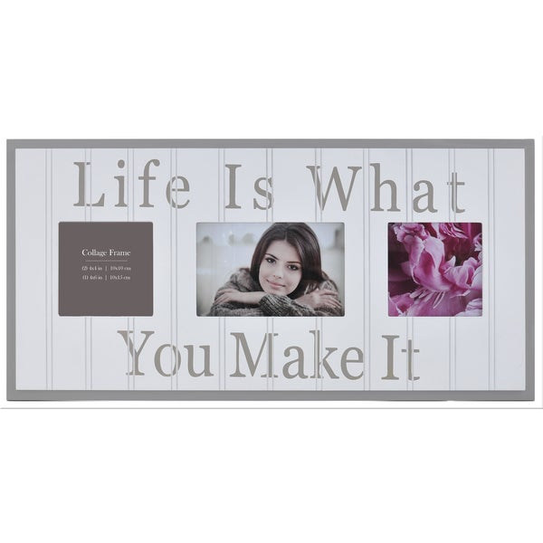 Burnes of Boston 'Life is What You Make It' Collage Frame