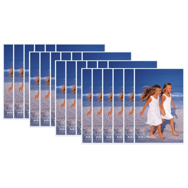 Clear Acrylic Velcro Snap Magnetic Frames (Pack of 12)