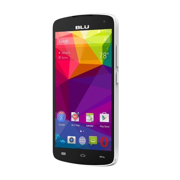 BLU Studio S530 Unlocked GSM Dual-SIM Phone White