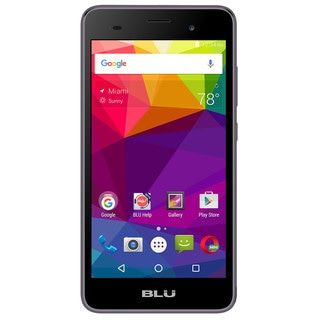 BLU Dash M2 D090U Unlocked GSM Phone - Gray
