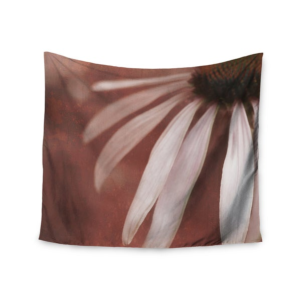Kess InHouse Iris Lehnhardt 'Copper and Pale Pink' 51x60-inch Wall Tapestry