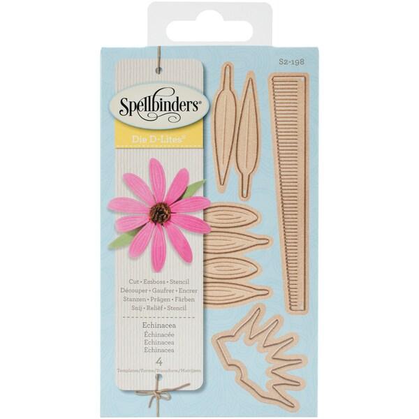 Spellbinders Shapeabilities Die D-Lites Echinacea Create A Flower
