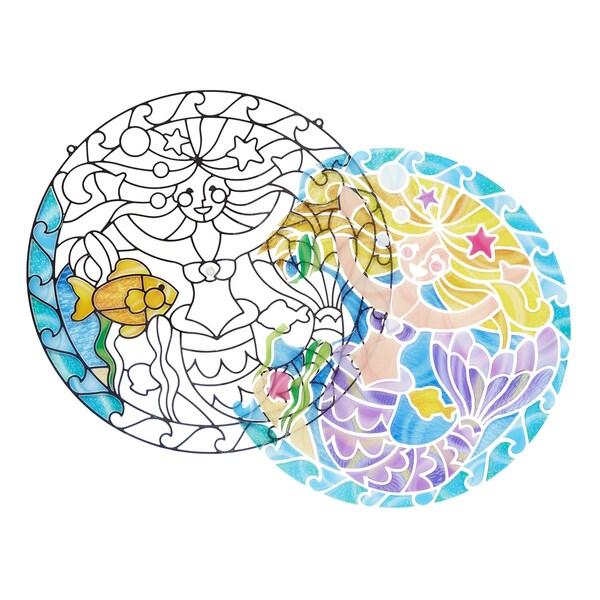 Melissa & Doug Mermaid Stained Glass