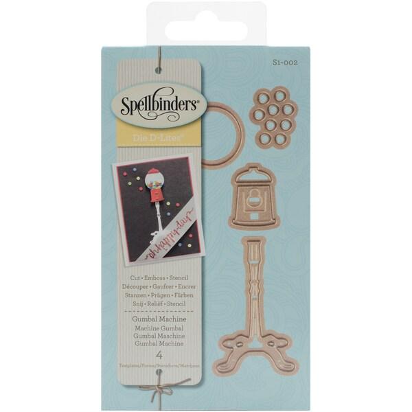 Spellbinders Shapeabilities Die D-Lites Gumball Machine