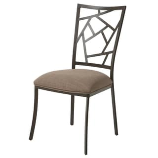 Homestead Bronze Steel/Linen Side Chair