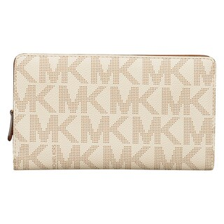 Michael Kors Signature Saffiano Large Snap Wallet