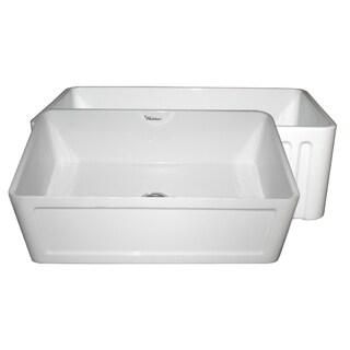 Reversible Series Fireclay Sink