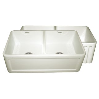 Reversible Series Fireclay Double Bowl Sink