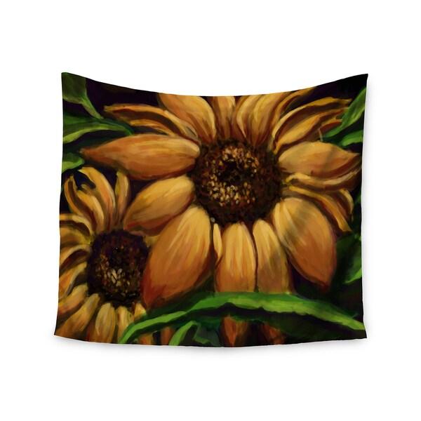Kess InHouse Cyndi Steen 'Sunflower Days' 51x60-inch Wall Tapestry