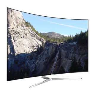 Samsung Refurbished 55-inch Curved 4K Ultra SUHD Supreme 240 MR Smart LED HDTV with Wifi