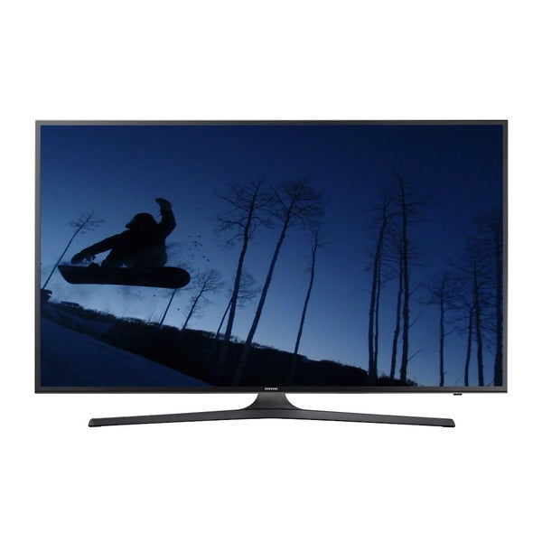 Samsung UN55KU6300FXZA Refurbished 55-inch 4K Ultra-HD Smart LED HDTV with Wi-Fi