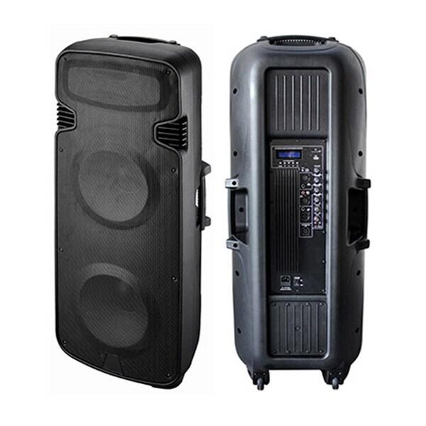 Blackmore 3300-watt Dual 15-inch Bluetooth Speaker