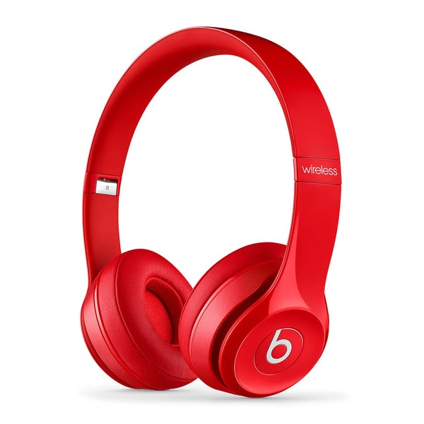 Beats by Dre Refurbished Solo 2 Wireless Red Headphones