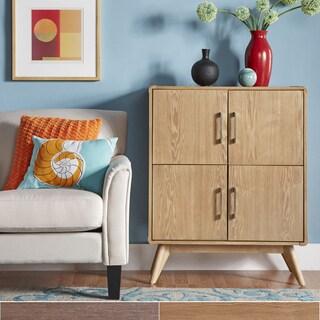 MID-CENTURY LIVING Penelope Danish Modern Side Chest Cabinet