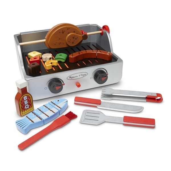 Melissa & Doug Rotisserie & Grill Barbecue Set 19488223