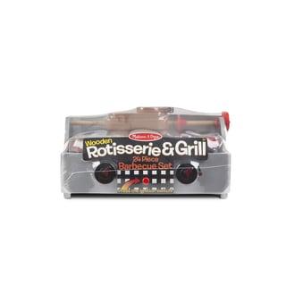 Melissa & Doug Rotisserie & Grill Barbecue Set