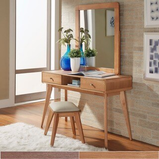 MID-CENTURY LIVING Penelope Danish Modern Vanity Console Table