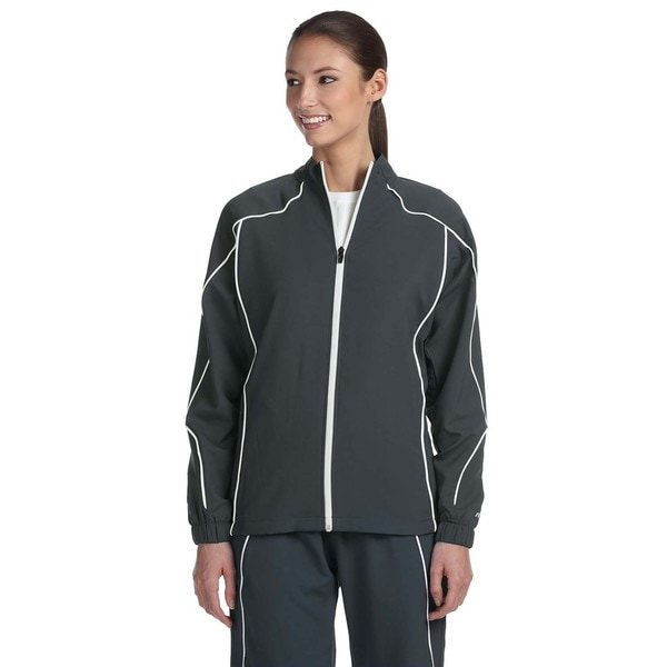 Team Prestige Women's Stealth/White Full-zip Jacket