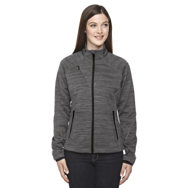 Flux Melange Women's Carbon Fleece Bonded Jacket