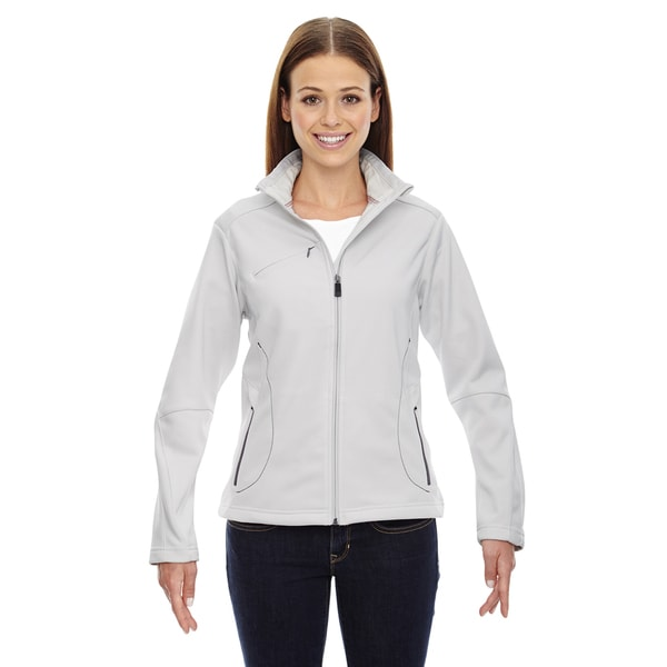 Escape Women's 695 Crystal Quartz Off-white Polyester Bonded Fleece Jacket