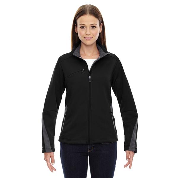 Escape Women's 703 Black Polyester Bonded Fleece Jacket