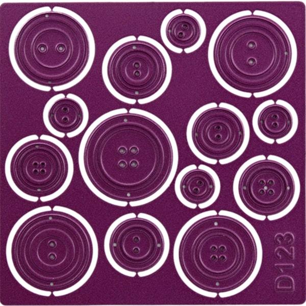 """Cheery Lynn Designs Die Buttons 3, 4""""X4"""""""