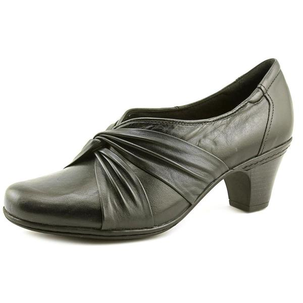 Cobb Hill by New Balance Women's Stacy Black Leather Dress Shoes