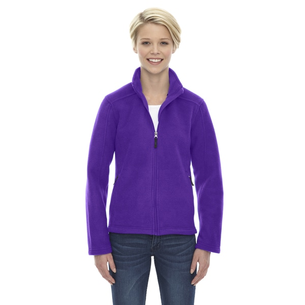 Journey Women's Campus Purple Fleece Jacket