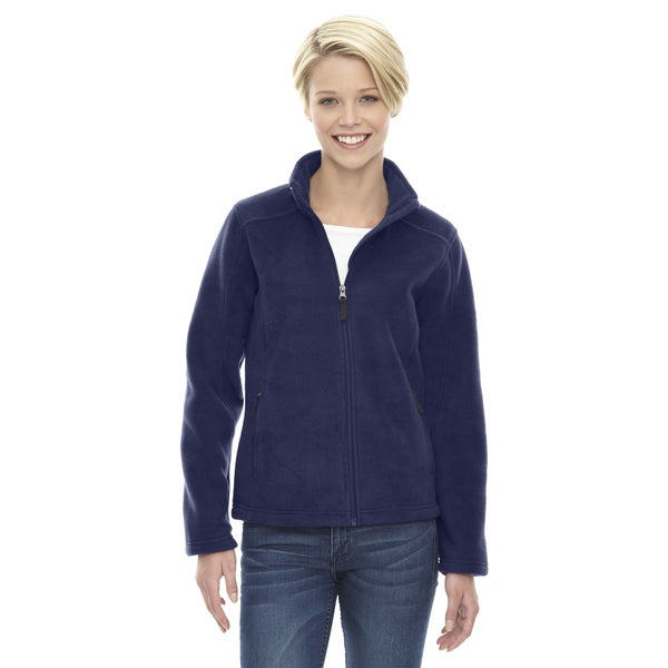 Journey Women's Navy Polyester Fleece Jacket