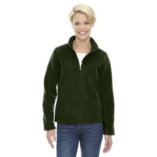 Journey Women's Forest Green Fleece Jacket