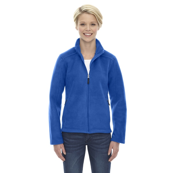 Journey Women's Royal Blue Polyester Fleece Jacket