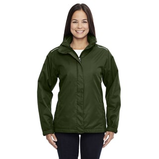 Region Women's Forest Green 3-in-1 Jacket With Fleece Liner